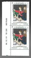 France 2020 - Raphaël (La Vierge De Lorette) ** - France