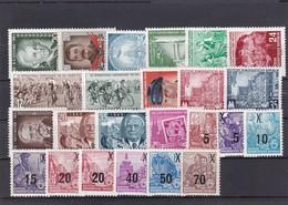 DDR, Ohne Block Kpl. Jahrgang 1954* (T 15947) - Nuevos