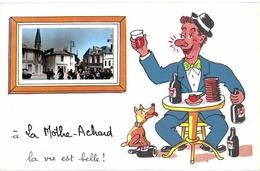 """Carte POSTALE Ancienne De   LA  MOTHE ACHARD - """"La Vie Est Belle"""" - La Mothe Achard"""