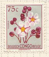 PIA - CONGO BELGA  - 1952 : Serie Corrente - Fiori : Euforbia  -  (Yv 309) - Oblitérés