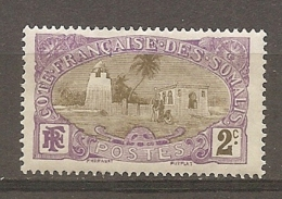 COTE S  - Yt.  N°  68  (*)   2c  Mosquée Cote  1   Euro BE  2 Scans - Ungebraucht