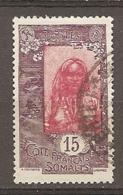 COTE S  - Yt.  N°  88 (o)  15c  Femme Cote  0,7   Euro BE - Gebraucht