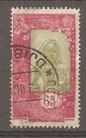 COTE S  - Yt.  N° 129 (o) 65c  Femme Cote  0,6   Euro BE - Gebraucht