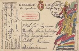 "9783-FRANCHIGIA 1° GUERRA-""POSTA MILITARE-154"" - 24-6-1919 - Marcophilia"