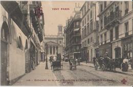 75 Paris 10ème Rue Hauteville Et église St Vincent De Paul  -s18 - Paris (10)