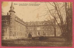 Rèves - Institut Ste Marie - Postulat Et Scolasticat Des Marianistes - Cour Des Postulants - En 1937 - Les Bons Villers