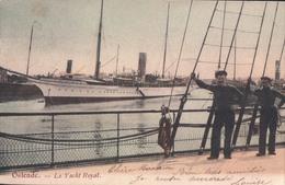 Ostende Oostende Le Yacht Royal : Primavera ? ( Boot Bateau Zeilboot ) - Oostende