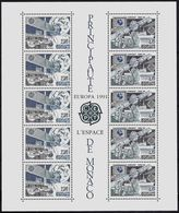 (!) Timbre(s)  EUROPA CEPT De 1991  Thème Europe Et Espace MONACO Y&T Bloc BF N° 52  Neuf(s) ** Mnh - 1991