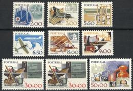Portugal 1980. Mi.Nr. 1472-77, 1478 I, 1478 II, 1479, Postfrisch **, MNH - 1910-... Republik