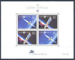 (!) Timbre(s)  EUROPA CEPT De 1991  Thème Europe Et Espace PORTUGAL Y&T Bloc BF N° 79 Neuf(s) ** Mnh - 1991