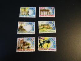 K31181 -set  Mint Hinged  Vatican City 2007- Trattati Di Roma - Unused Stamps