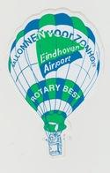 Sticker Ballon Voor Zonhove Eindhoven Airport Rotary Best (NL) Luchtballon-airballoon - Stickers