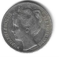 *netherlands 1/2 Gulden  1905 Km 122.2   Vf+ - 1/2 Gulden