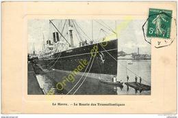 76.  LE HAVRE .  Le Bassin Des Transatlantiques . - Le Havre