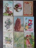 LOT DE 149 CARTES FANTAISIES AVEC HANSI, POULBOT,CARTES PUBLICITAIRES, ETC, ETC....VOIR LES PHOTOS - Cartes Postales