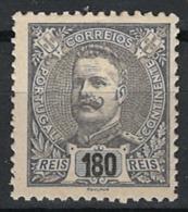 Portugal 1898. Mi.Nr. 153, MH * - 1892-1898: D. Carlos I.