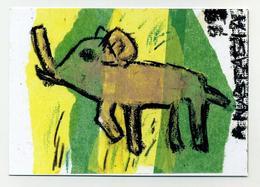 CP Neuve. Dessin D'enfant. Elephant. Pour Les Enfants Du Burkina Faso. Une Classe De CE2 De L'école Alsacienne. Elefant - Arts