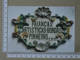 PORTUGAL - BORDALO PINHEIRO -  CALDAS DA RAINHA -   2 SCANS     - (Nº34965) - Leiria