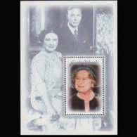 COOK IS. 2000 - Scott# 1236 S/S Queen Mother MNH - Cookinseln