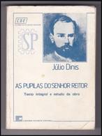 Portugal 1979 Livro De Júlio Dinis As Pupilas Do Senhor Reitor António Capão Livraria Estante Editora Aveiro Grafestal - Books, Magazines, Comics