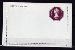 90P * GROSSBRITANNIEN * LETTER CARD * 7 P * POSTFRISCH **! - 1952-.... (Elizabeth II)
