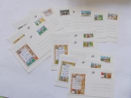 BELGIQUE - N°   N° BK 54/65 Les 12 Cartes  De La Serie  ( Voir Photo )  93 - Postwaardestukken