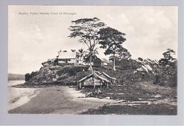 Nicaragua Monkey Point, Atlantic Coast Ca 1920 Old Postcard - Nicaragua