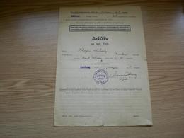 Kiskoszeg Batina Croatia  Barnya Varmegye Adoiv 1941 Evre WW2 - Documents Historiques