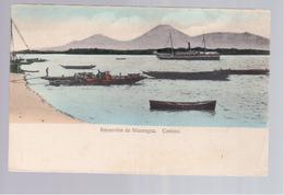 Nicaragua  Recuerdos, Corinto Ca 1910 Old Postcard - Nicaragua