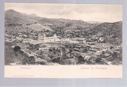 Nicaragua Saludes De .. Matagalpa Ca 1910 Old Postcard - Nicaragua