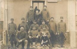 PUISEUX LES LOUVRES 1914 CARTE PHOTO REGIMENT N°69 - France