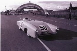 DB Panhard X89 1100cm - Pilotes:Charles Plantivaux/Guy Lapchin (Concurrents Francaises Du Mans 1953  -  15x10cm PHOTO - Le Mans