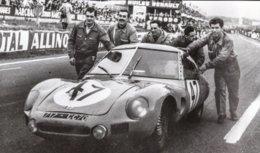 DB-Panhard Aerodynamique - Pilotes: Edgar Rollin-René Bartholoni - Concurrents Francaises Du Mans 1961) - PHOTO 15x10cms - Le Mans