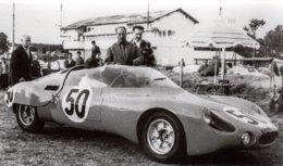 René Bonnet Djet Spyder - Pilotes: Paul Armagnac-Gérard Laureau - (Concurrents Francaises Du Mans 1962) - PHOTO 15x10cms - Le Mans