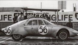 René Bonnet Aerodjet  - Pilotes: Pierre Monneret/Jean Claude Rudaz - Concurrents Francaises Du Mans 1964 -  15x10 PHOTO - Le Mans