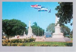 Nicaragua Managua - Monumento Ruben Dario 1967 Old Postcard - Nicaragua