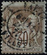 -Sage N°80 Type II  Sous Réserve Type  I.(CAD) O. PARIS LA VILETTE - 1876-1898 Sage (Type II)