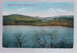 Nicaragua Laguna De Asososca Managua Nic. C.A. Ca 1930 Old Postcard - Nicaragua