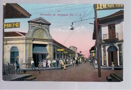 Nicaragua Mercados De Managua Nic. C.A., Le Marche Ca 1930 Old Postcard - Nicaragua