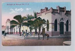 Nicaragua Mercado De Masaya Nic. C.A. Ca 1930 Old Postcard - Nicaragua