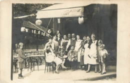 CARTE PHOTO  RESTAURANT A LA CASCADE LIEU NON IDENTIFIE - Restaurants