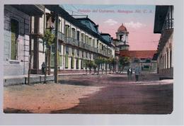 Nicaragua Managua Palacio Del Gobierno Ca 1930 Old Postcard - Nicaragua
