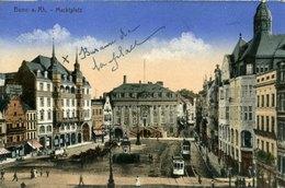 Bonn Marktplatz Rathaus - Bonn