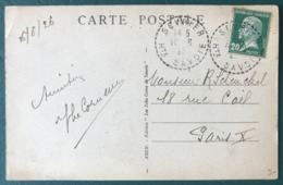 France, TAD (type B4) SEVRIER Haute Savoie 1926 Sur CPA - (B023) - 1921-1960: Modern Period