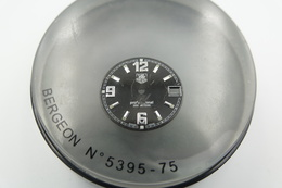 Watches PARTS : TAG HEUER PROFESSIONAL 2000 Series MEN * - Color : Black  - Vintage - Genuine Parts- Swiss - Jewels & Clocks