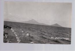 Nicaragua El Momotombo Ca 1930 A. Diaz Old Photo Postcard - Nicaragua