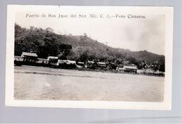 Nicaragua Puerto De San Juan Del Sur Ca 1920 Foto Cisneros Old Photo Postcard - Nicaragua