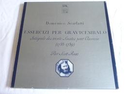 LP, SCARLATTI, Intégrale Des Trente Sonates Pour Clavecin, Scott Ross,  Coffret 2 Disques - Classical