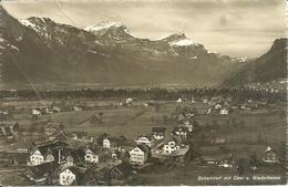 Schattdorf (Uri, Svizzera) Mit Ober Und Niederbauen, Gesamtansicht, Panorama, General View - UR Uri