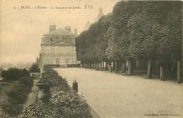 SL 3 X Cpa 41 BLOIS. L'Evêché. Jardin Du Square 1924, Terrasse Et Vallée De La Loire 1915 - Blois